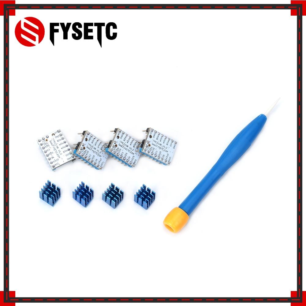 4pcs TMC2130 V1 2 Stepstick Stepper Motor Driver For SPI Function Flying Wire Special For FYESTC