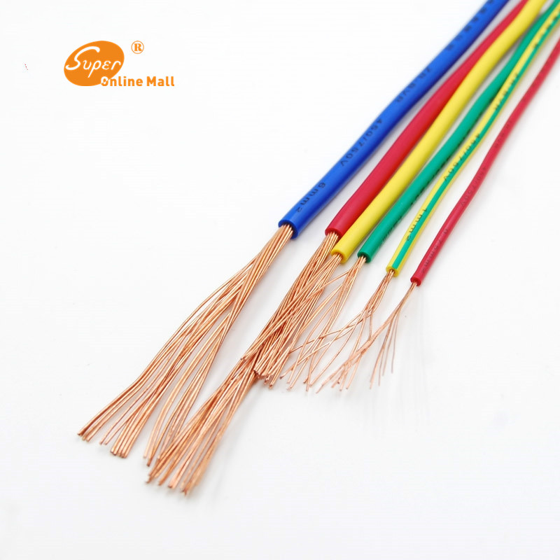 1m ZR BVR 35mm Square multi strand cord Home Improvement Household ...