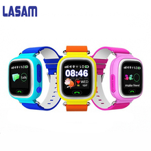 LASAM GPS Contact Display WIFI Positioning Good Watch Youngsters SOS Name Location Finder Gadget Tracker Child Secure Anti Misplaced Monitor