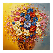A bunch of flowers Diamond Painting floral Round Full Drill 5D Nouveaute DIY Mosaic Embroidery Cross Stitch home decor gifts