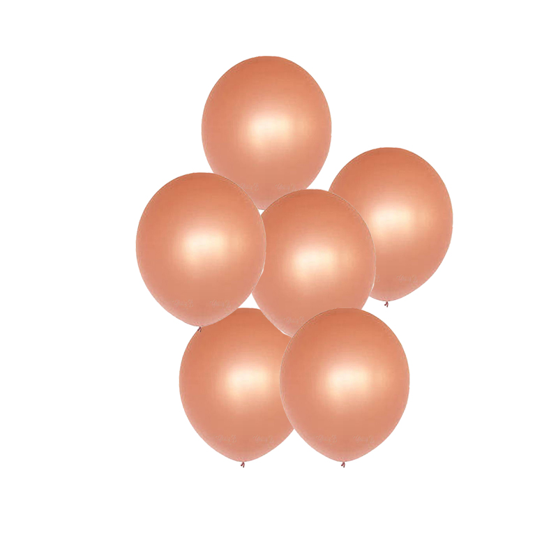 12 Pieces 12 inch Rose Golden Latex Balloons Wedding Decorations Birthday Party Decorations Helium Balloon Event Party Supplies