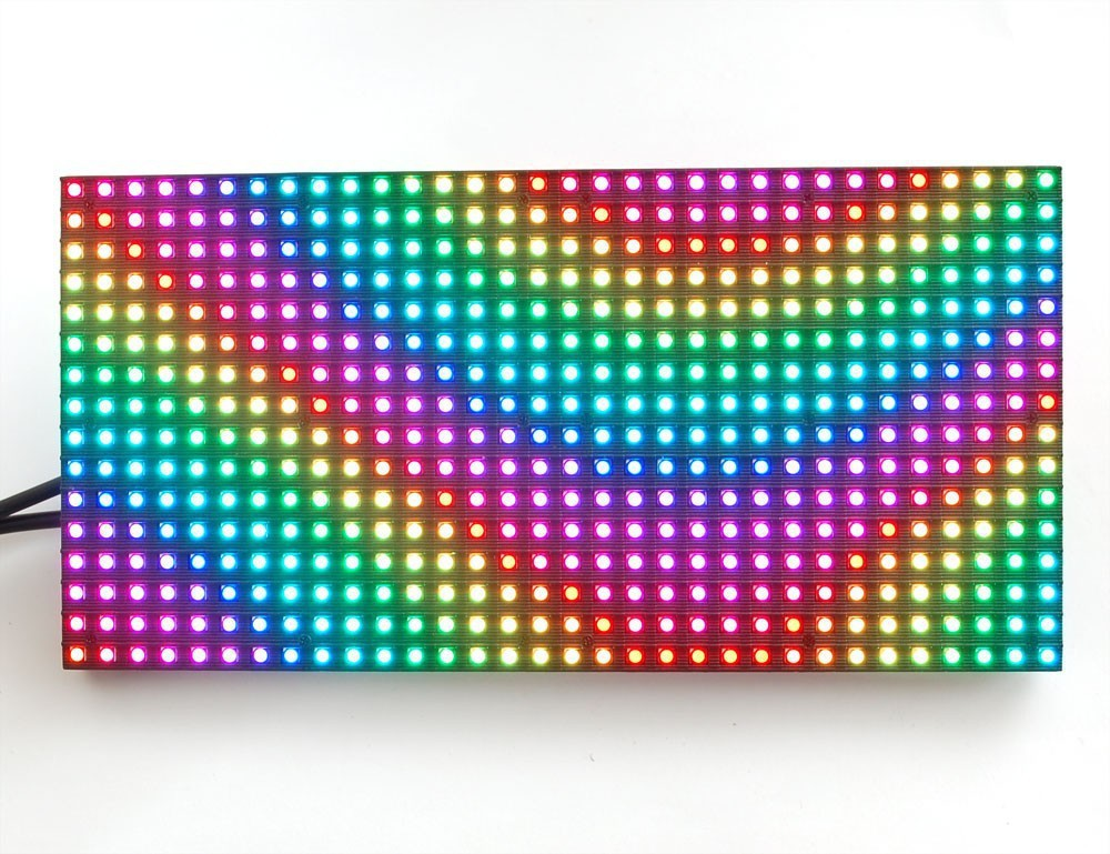 free shipping DIY RGB color LED display 18 pcs P10 indoor Full Color Led Module 320