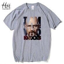 HanHent Fashion Breaking Bad T Shirts Men Heisenberg Camisetas Hombre Men Tee Shirt Tops Short Sleeve Cotton Fitness T-shirts