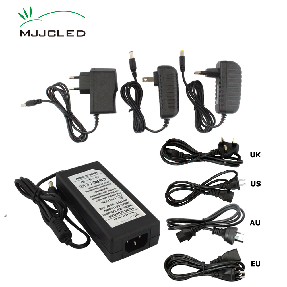 <font><b>5</b></font> Volt Power Supply 5V <font><b>5A</b></font> 8A 10A 1A 2A 3A 4A Power Adatper <font><b>AC</b></font> <font><b>DC</b></font> 110V 220V to 5V Power Supply Unit for LED Strip image