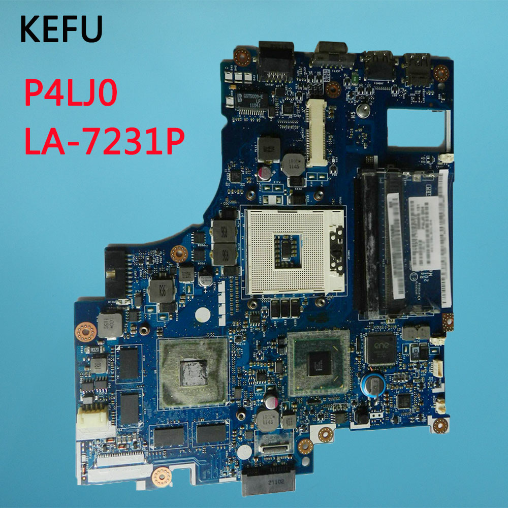 KEFU For ACER 4830 4830T Laptop Motherboard MB.RGP02.001 MBRGP02001 P4LJ0 LA 7231P free shipping-in Motherboards from Computer & Office    2