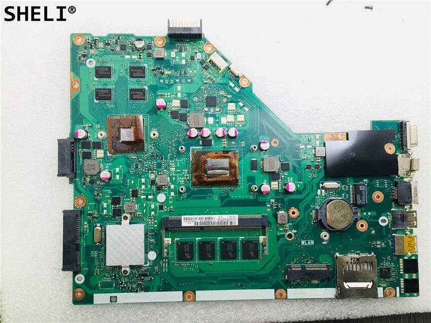 SHELI pour carte mère d'ordinateur portable ASUS X55VD