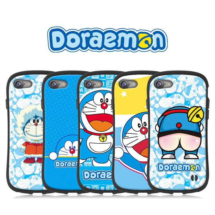 Doraemon iface case for iphone X XS MAX XR 8 7 6 6s plus soft silicon Cartoon matte coque Classic cartoon Cat fundas 8plus capa in Fitted Cases from Cellphones Telecommunications