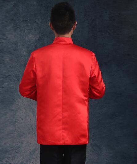 Kineska tradicionalna odjeća vjenčanje rude vezenje nevjesta - Nacionalna odjeća - Foto 5