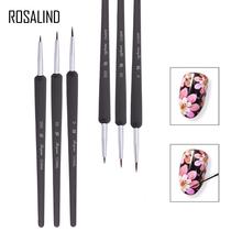 ROSALIND 3PCS SET Nail Art Stirring Rod Tools Professional Dotting Painting Drawing UV Gel Liner Nail Salon Use or Home Use Gel cheap 3PCS LOT N5056 plastic Nail Brush Easy to Handle CHINA Nail Gel