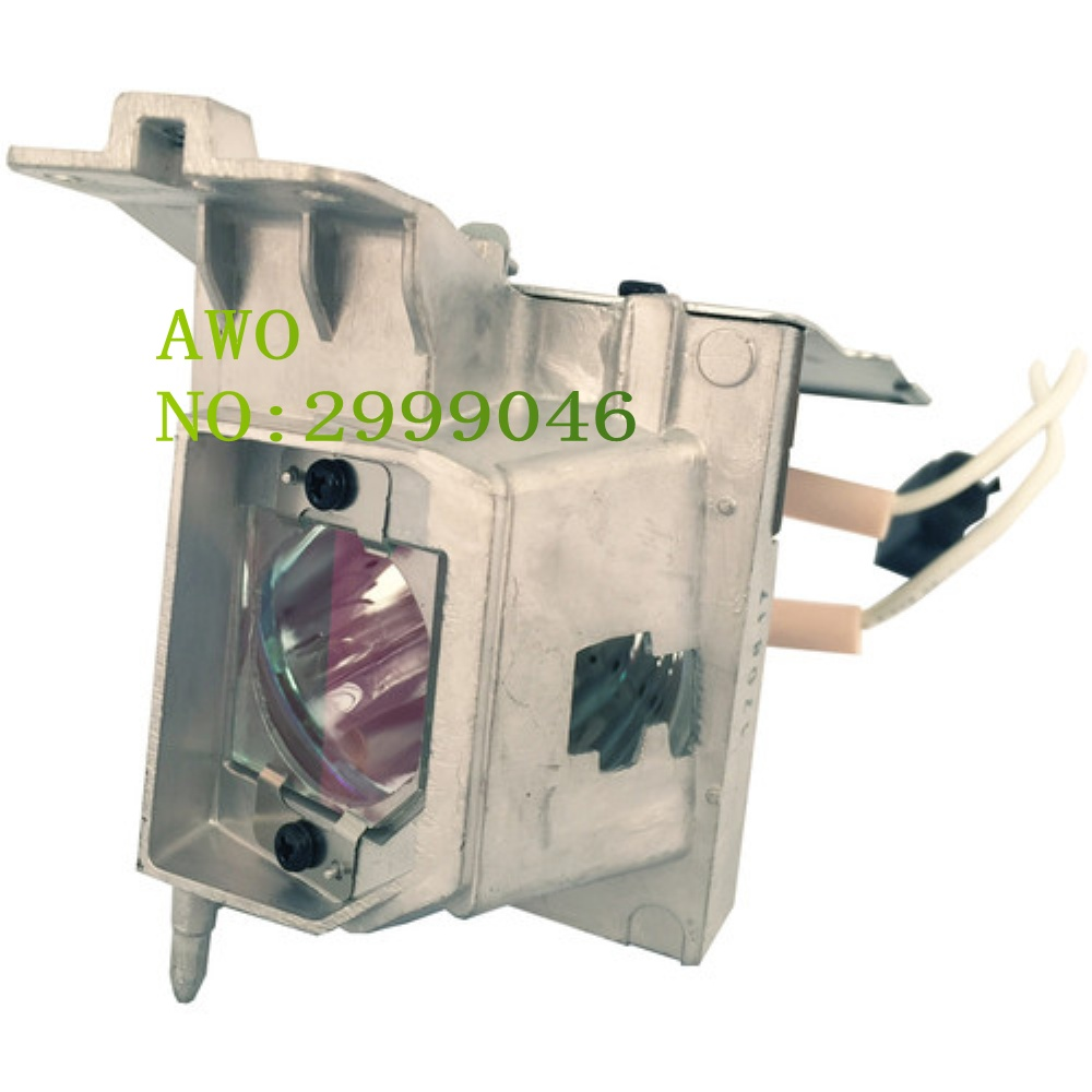 AWO Replacement Original Projector SP-LAMP-100 Lamp For Infocus IN119HDxa projectors replacement projector lamp sp lamp 058 for infocus in3114 in3116 in3194 in3196