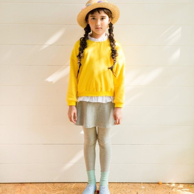 Winter Girls Fashion Outfit Yellow Sport Suit For Kids Children Clothing Korean Style Teens Cute Clothes