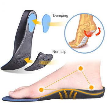 Eva Sports Orthopedic Insoles Pads For Shoes Men Women Flat Feet Arch Support Pad Sweat Breathable Cushion Foot Orthotic Insole kotlikoff orthopedic insoles 3d eva insoles flat feet arch support shoe inserts for men women shoes orthotic insole foot pad