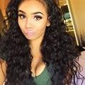 8A Brazilian Virgin Hair With Closure 3pc Alimice Hair Products With Closure Brazilian Kinky Curly Virgin Hair With Closure