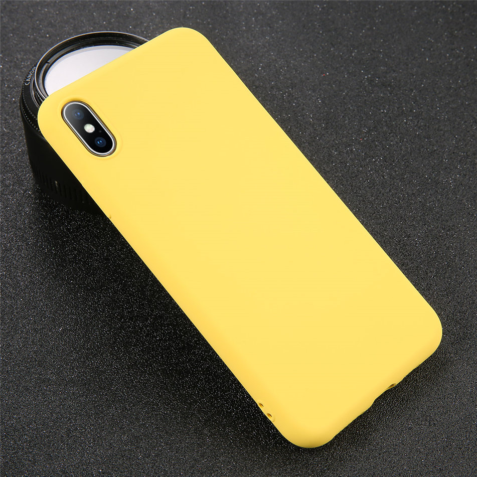 HTB1qAJNXRCw3KVjSZFuq6AAOpXaE - USLION Silicone Solid Color Case for iPhone SE 2020 11 Pro MAX XR X XS Max Candy Phone Cases for iPhone 7 6 6S 8 Plus Soft Cover