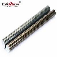 200cmx50cm 2D Carbon Fiber Vinyl Wrap Film High Glossy Waterproof PVC Wrapping Film Car Stickers Motorcycle