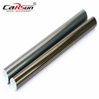 200cmx50cm 2D Carbon Fiber Vinyl Wrap Film High Glossy Waterproof PVC Wrapping Film Car Stickers Motorcycle