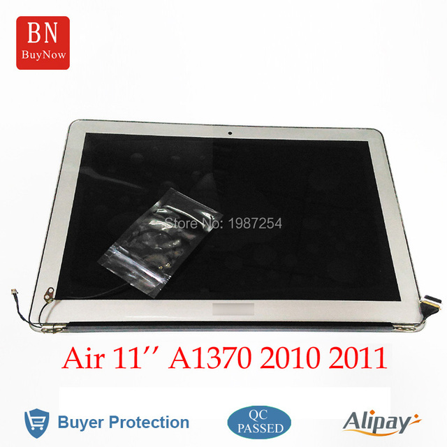 "100% working well 11.6"" laptop LCD assembly for Apple Macbook air a1370 lcd screen display 2010-2011 original quality"