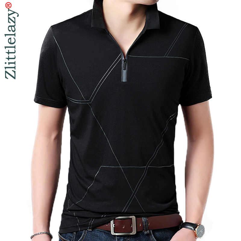 163f05c60bd 2018 Высокое качество летние мужские Поло рубашка для мужчин короткий рукав S  рубашки на молнии карман