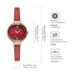 Image 5 - IBSO חדש יוקרה גבירותיי קוורץ שעון נשים Relogio Feminino שעות אופנה נשים יד שעונים נשי שעון Montre Femme 2020