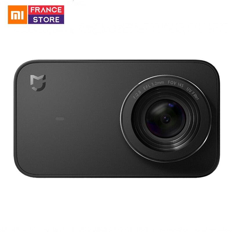 Xiaomi Mijia Mini caméra d'action 4k Sport caméra vidéo enregistrement Wifi appareils photo numériques Bluetooth Ambarella version anglaise