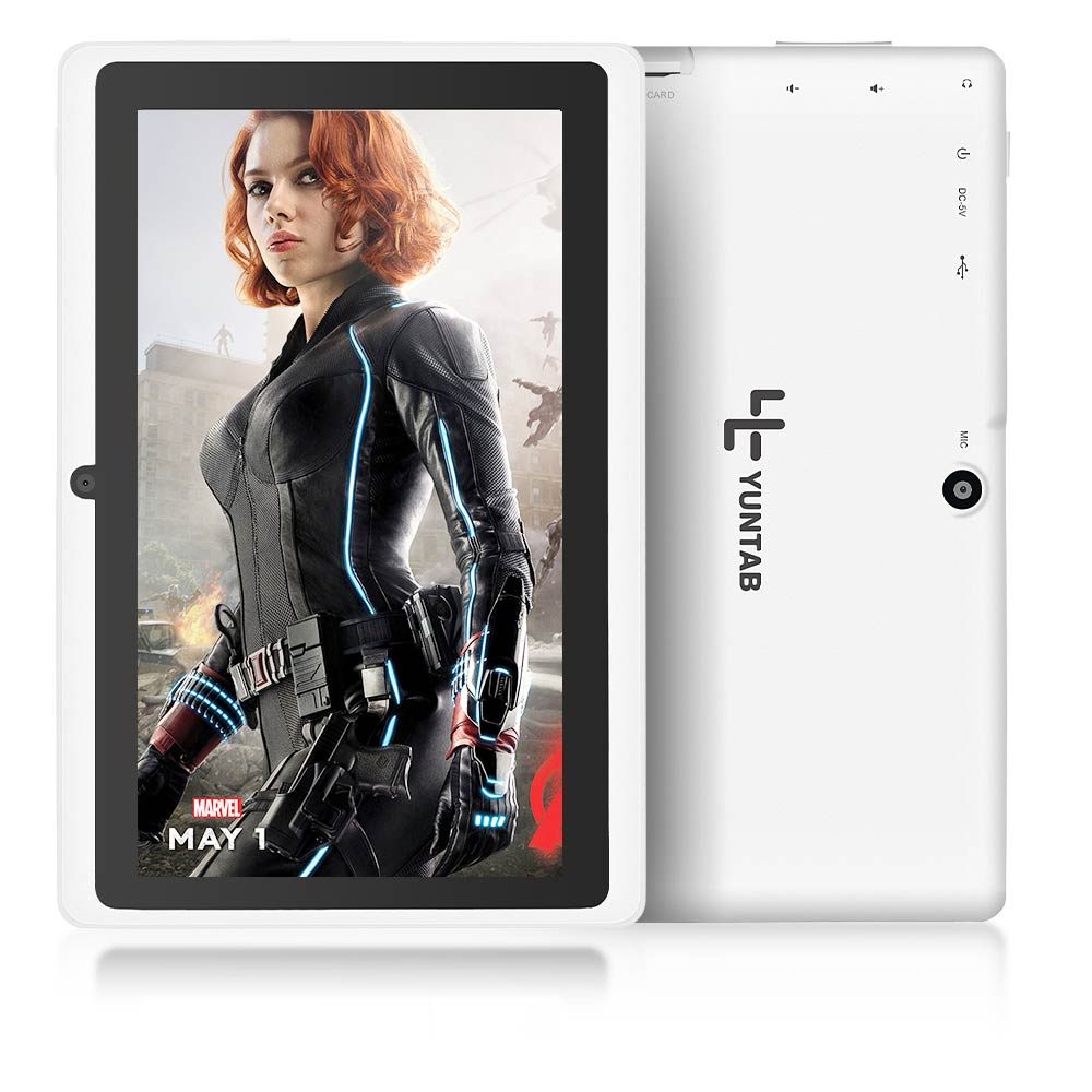 5 Colors 8GB Q88 7 inch Tablet PC Allwinner A33 Quad-Core 512MB/8GB 1024 x 600 Dual Camera WIFI 2500mAh with bluetooth l228 page 6