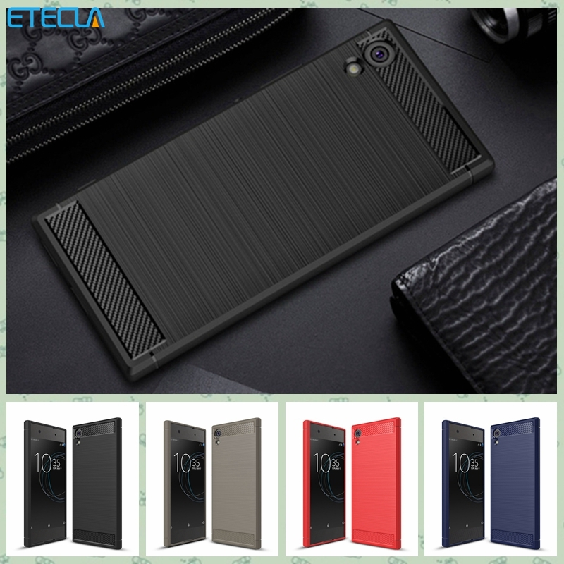 For Sony Xperia Xa1 Ultra Case Sony Xperia Xa1 Ultra Cover On For Experia Xa1 Ultra Premium Original Silicone Hybrid Soft Shell