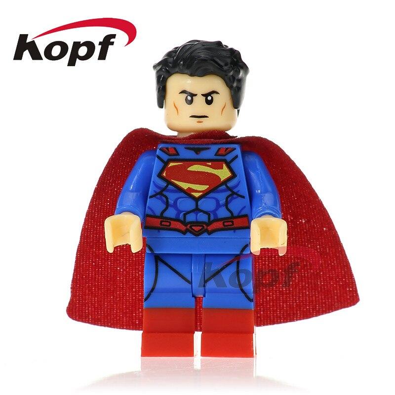 Один продажа Super Heroes Супермен miracleman Wonder Woman Тор красная стрелка кирпичи модель здания Конструкторы Детский подарок Игрушечные лошадки XH 667