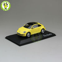 1 43 Scale VW Volkswagen Beetle Diecast Car Model Toys Yellow