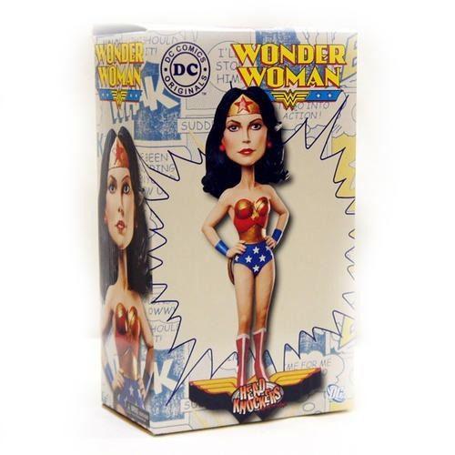 ФОТО Wonder Woman DC Classics Bobblehead Neca Head Knocker  New In Box