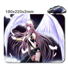 220*180*2mm Hot anime girl with purple hair Customized Non-Slip Rubber 3D Printer Gaming laptop Rubber Durable Nice Mouse mat