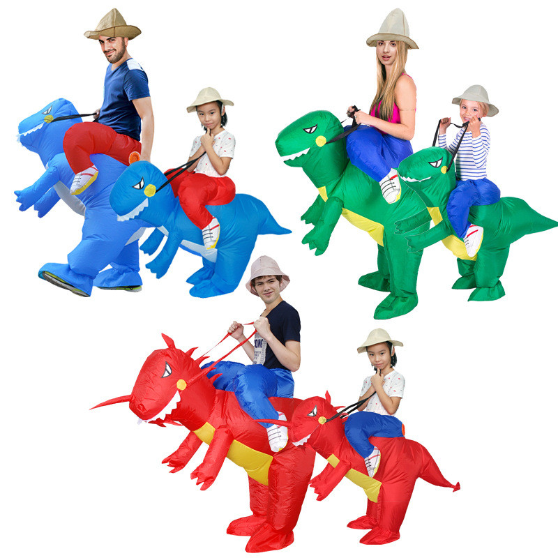 Novelty & Special Use Women's Costumes Purim Funny Funny Inflatable Unicorn Dinosaur Willie Cowboy Sumo Boy And Child Role Playing Animals Play Halloween Party Supplie