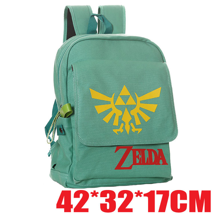Canvas backpack The Legend of Zelda trend student computer . 856b95a5f4e14