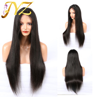 Straight Full Lace Human Hair Wigs With Baby Hair Pre Plucked Brazilian Full Lace Wigs For Black Women Remy Human Hair Wigs