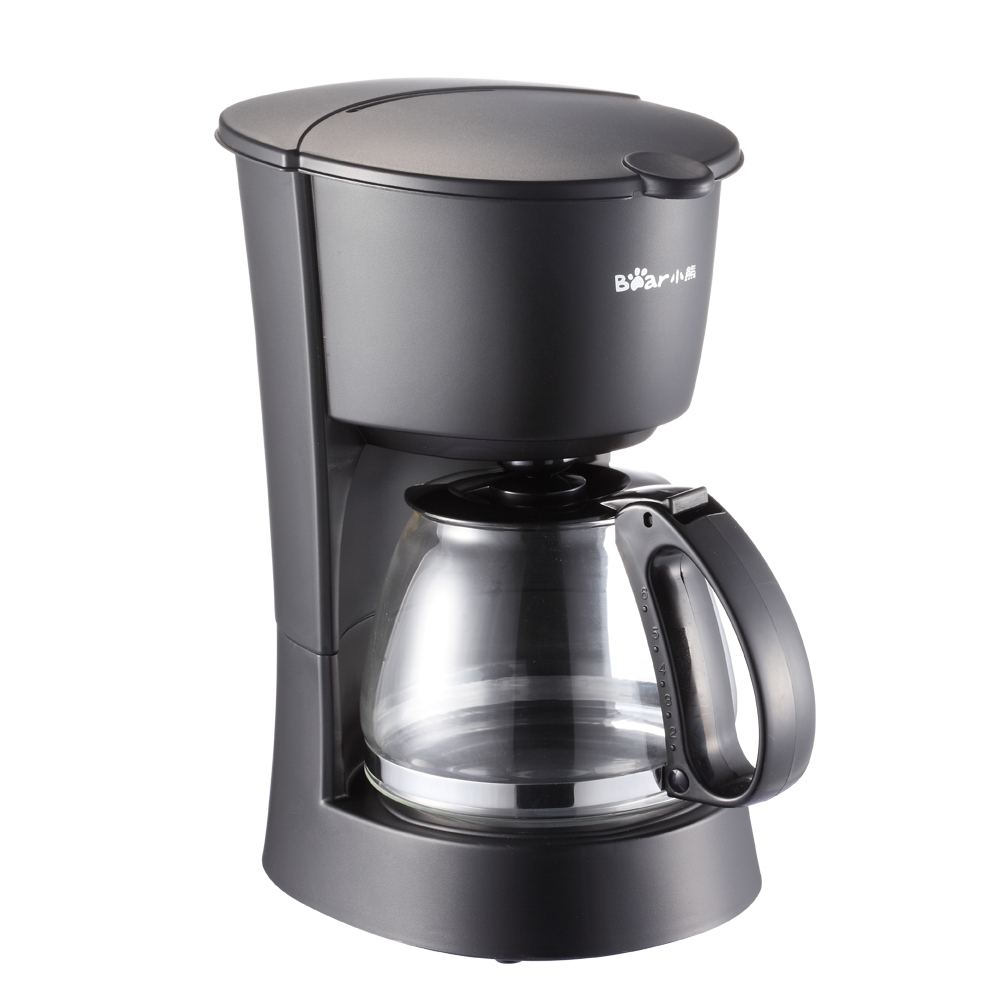 Bear High-quality Automatic Electric Mini Coffee Maker Machine White Drip Coffee Machine With Water Window