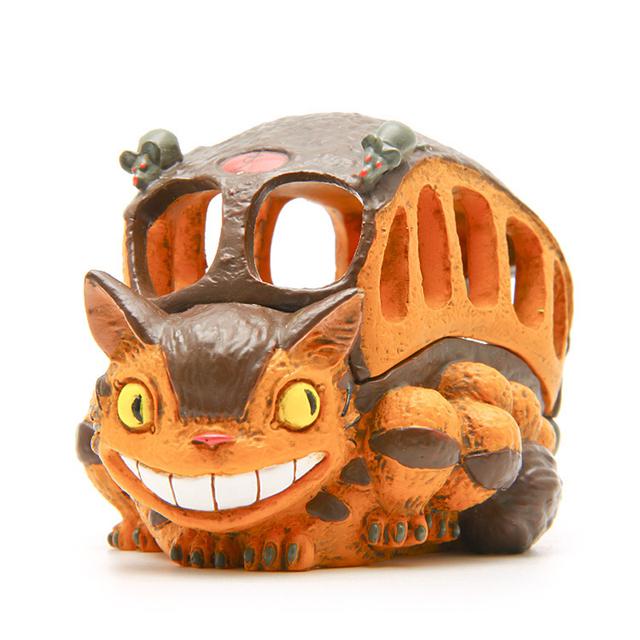 9Cm  Totoro Cat Bus Figure