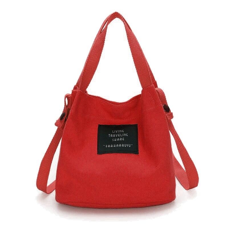 ABDB Fashion Women's Canvas Handbag Shoulder Bag Tote Purse Cute Travel Bucket Bag