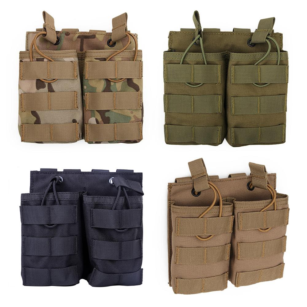 New Hot 1 Pcs WST Double Stacker Magazine Pouch Bag Case For G36 Mag Pouch Holder With High Quality- CP/Black/Green/Tan
