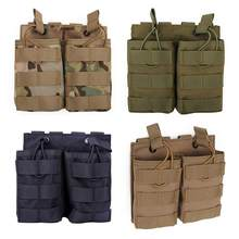 New Hot 1 Pcs WST Double Stacker Magazine Pouch Bag Case For G36 Mag Pouch Holder With High Quality- CP/Black/Green/Tan(China)
