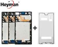 Heyman Middle Front Frame Bezel Housing For Sony Xperia Z5 Premium E6853 E6833 E6883 LCD Screen Holder Frame Repair Parts