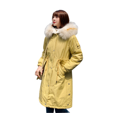 new Long warm thick women jacket winter warm jacket women women's winter jacket wadded down outwear chaqueta mujer coat parka