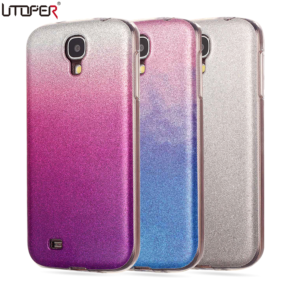 For Samsung s4 Case Silicon Glitter Phone Cover For ...