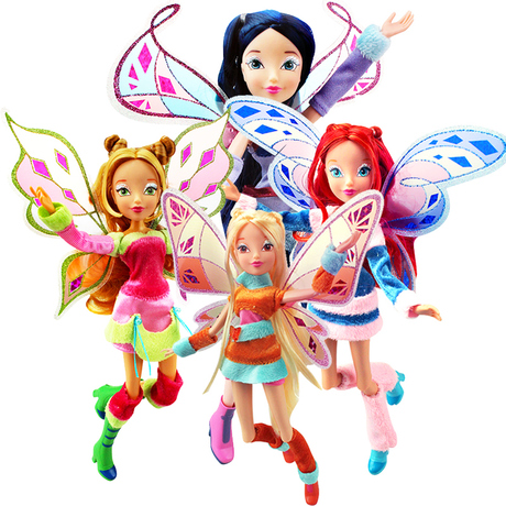 with Original box Winx club Magic Beautiful girl Doll Collection Toys winx колонка defender spk 480