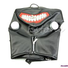 Hot Sale Cool Cosplay Tokyo Ghoul Kaneki Ken Halloween Party Adjustable Zipper Prop Mask