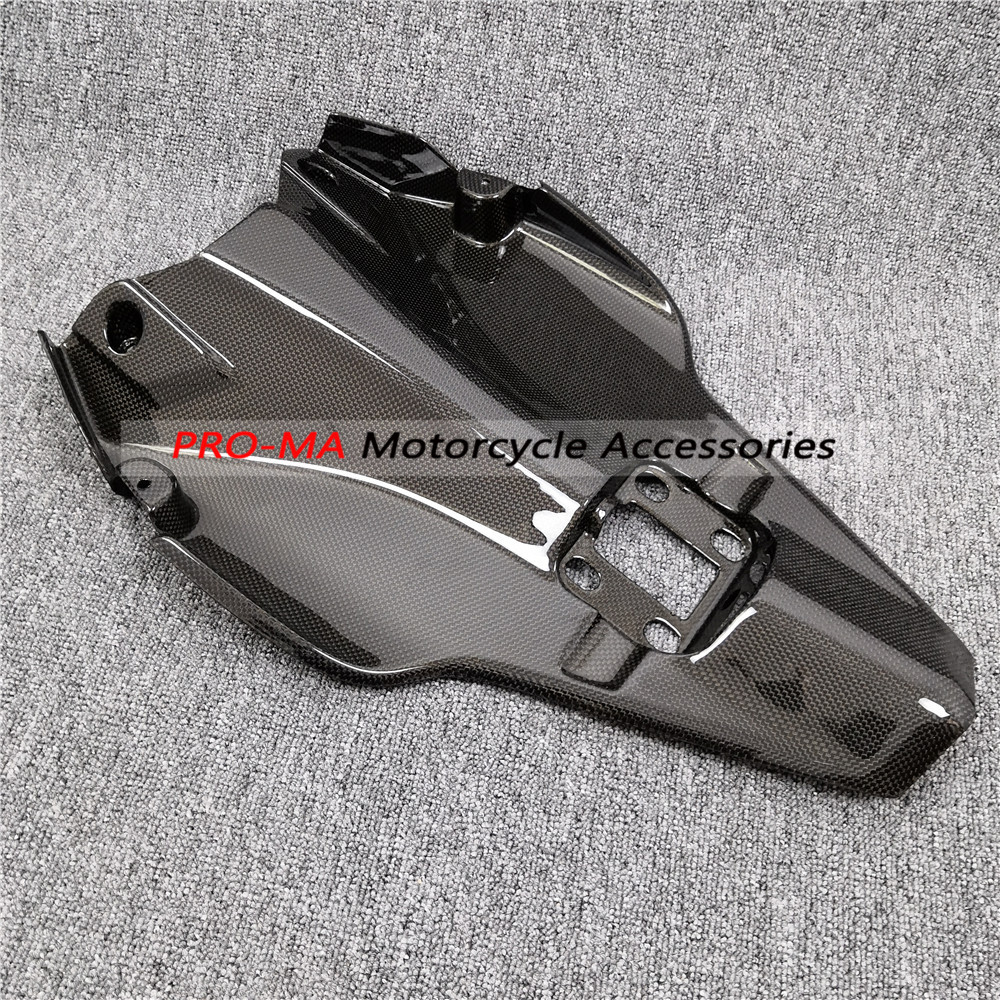 Motorcycle Undertray In Carbon Fiber For Ducati  Superbike 1198,1098, 848 Plain