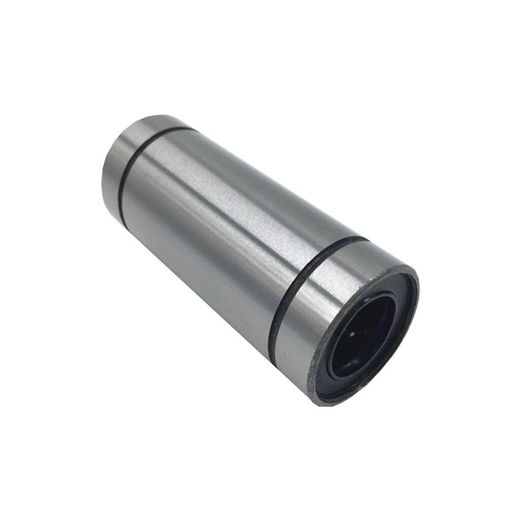 Optical axis linear motion bearing lengthened LM6 8 10 12 16 20 25 30 35 40 50LUU sliding