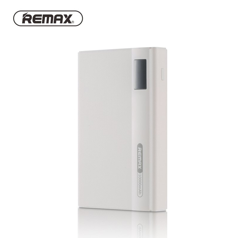 Remax RPP 53 10000mAh ABS Power Bank External Battery Bank Dual USB Fast Convenience Charging For