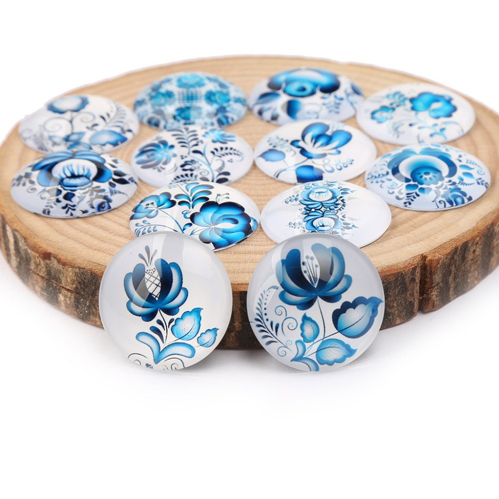 shukaki mix blue flower photo round dome glass cabochons 10mm 12mm 14mm 18mm 20mm 25mm 30mm diy jewelry accessoriesshukaki mix blue flower photo round dome glass cabochons 10mm 12mm 14mm 18mm 20mm 25mm 30mm diy jewelry accessories