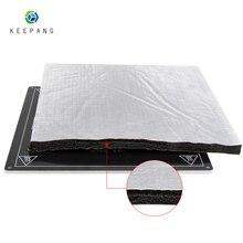 3D-принтеры части теплоизоляция хлопок 200/220/235/310 мм Фольга самоклеящаяся хлопок изоляции 3D-принтеры нагрева наклейки для кровати