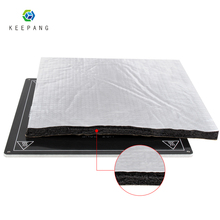 3D Printer parts Heat Insulation Cotton 200/220/235/310mm Foil Self-adhesive Heating Bed Sticker