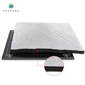 Części drukarki 3D izolacja cieplna bawełna 200 220 235 310mm folia samoprzylepna izolacja klejąca bawełniana drukarka 3D do ogrzewania łóżka naklejka tanie i dobre opinie Kee Pang Papier ciepła F35-B1108 sliver Russian Spanish English Hebrew 899PCS IN STOCK impressora 3d pe as 3d printer parts accessories